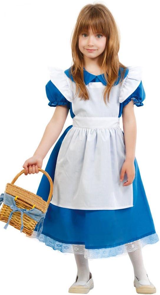 Guirca - Disfraz Alicia, talla 7-9 años, color azul (81672 ...