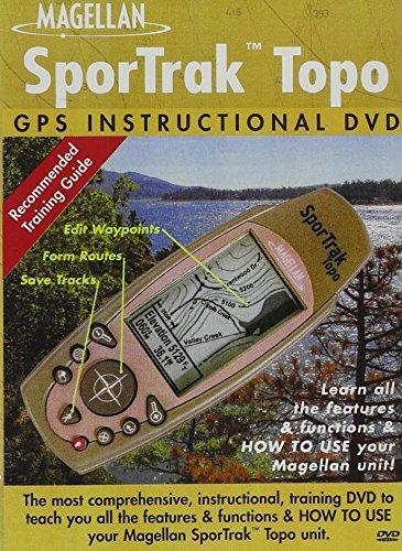 Bennett Marine Instructional Dvd - DVD Magellan SporTrak Topo Instructional Training DVD