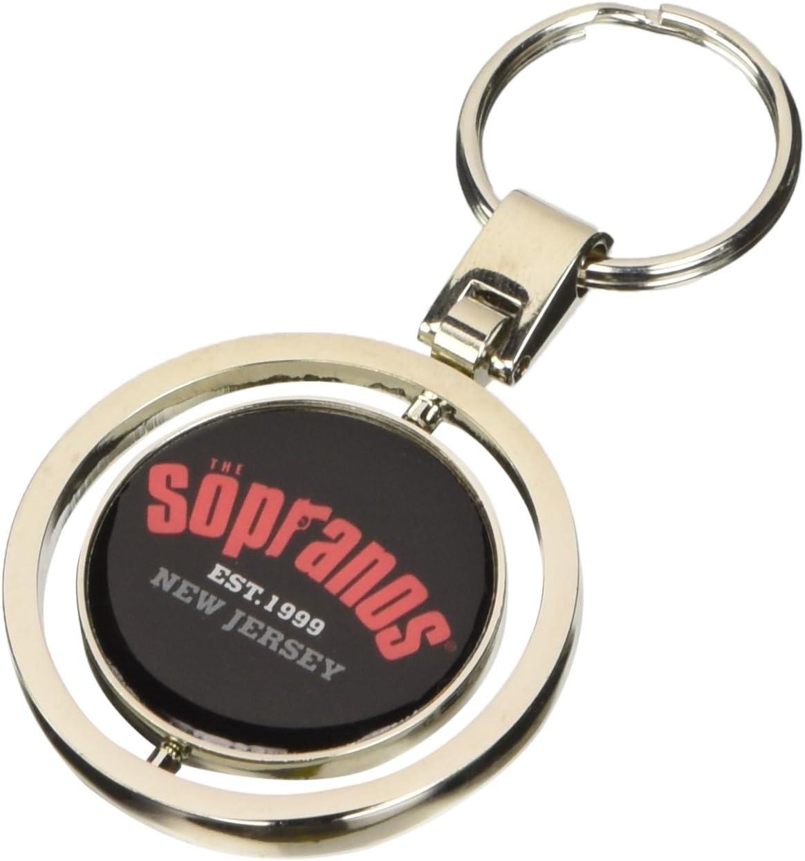 Sopranos Keychain Collegiate /& Crest Logo Sopranos