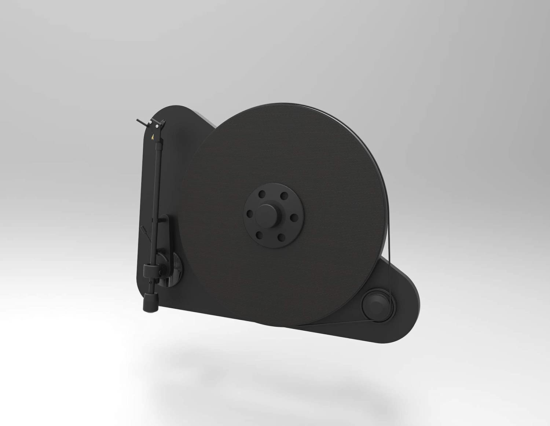Pro Ject Vt E Bt Vertikaler Plug Play Plattenspieler Mit Bluetooth Schwarz Audio Hifi