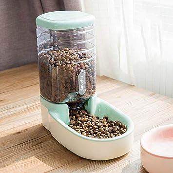 elec tech - Dispensador automático de Comida para Mascotas para Gatos y Perros (3,8 l): Amazon.es: Hogar