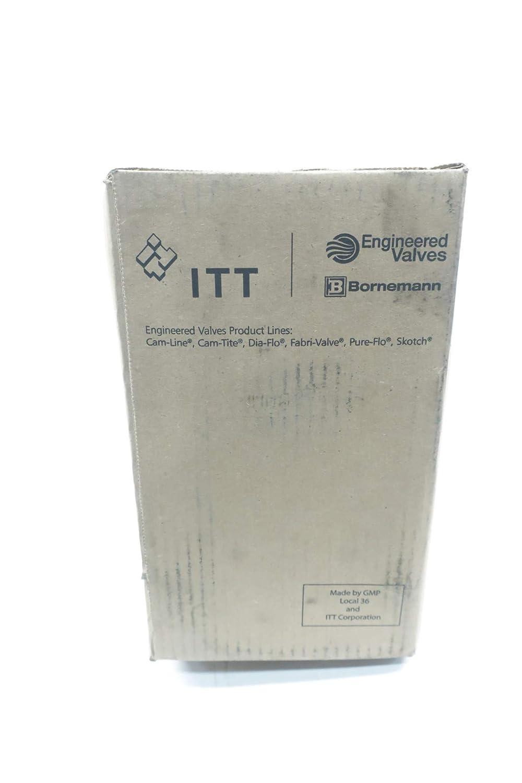 ITT 1-2833-ST-902 Dia-FLO 100 Iron FLANGED 1IN Diaphragm Valve D638559