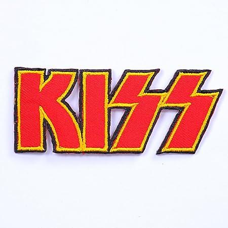 parches para ropa parches termoadhesivos parches rock parche bordado parches bordados parches kiss 10 cm: Amazon.es: Hogar