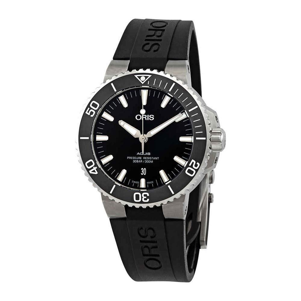 Oris Aquis Date Automatic, Automatic Watch, Eyecatching, Rubber Strap