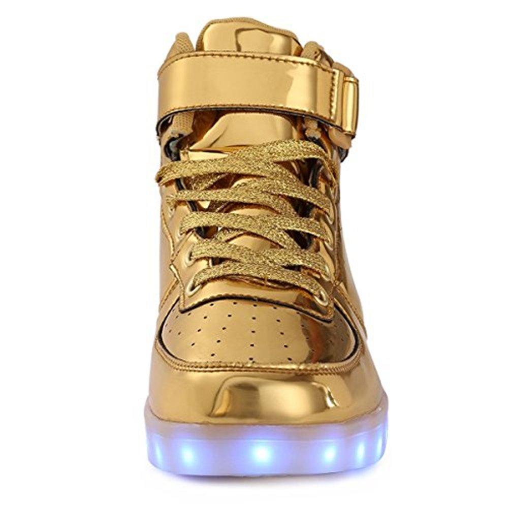 homme femme / femme homme de garçon et fille enfants haut conduit baskets lumière allumer des chaussures chaussures de clignotants ont les baskets de négocier un nouveau style flash usb et tarification des chaussures ar5732 e318d9