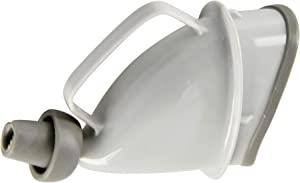 """HOME-X Portable Female Urination Device, Travel Urinal, Spout fits Most Bottles, Car and Camping Essential, 5 ½"""" L x 4 ½"""" W x 3"""