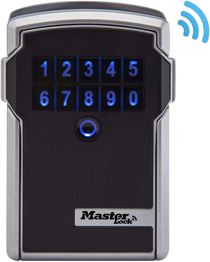 -5440EURD-Select Access Smart Lock Box Master Lock 5440EURD Connected Key Safe Shackle Bluetooth or Combination Weatherproof