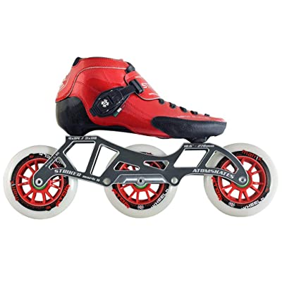 Atom Luigino Strut 3 Wheel Inline Skate Package (Atom Matrix Wheels 100mm, Bionic ABEC7) : Sports & Outdoors