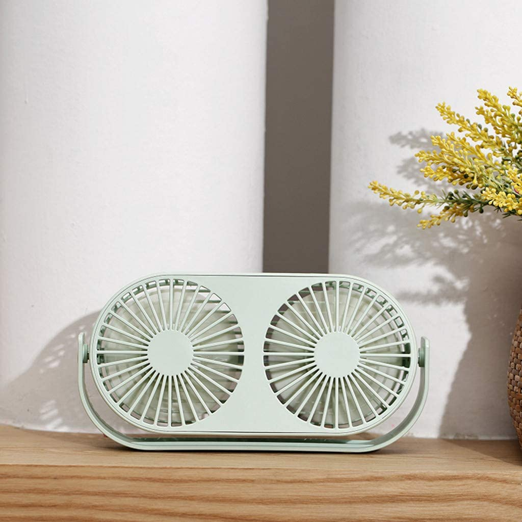 Personal Portable Desk Stroller Table Fan with Battery Operated Cooling Folding Electric Fan Togethor Mini Handheld Fan