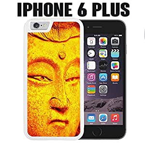 iPhone Case Golden Warrior of Light for iPhone 6 PLUS Plastic White (Ships from CA)