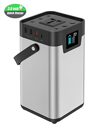 X-DRAGON Portable Power Station Portable Generator 200Wh 54000mAh Camping Battery Backup Pack Power Supply