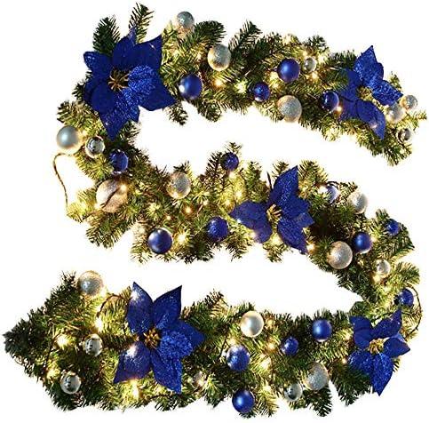 Surfmalleu Guirnalda de Navidad Decoración Led para Árbol ...