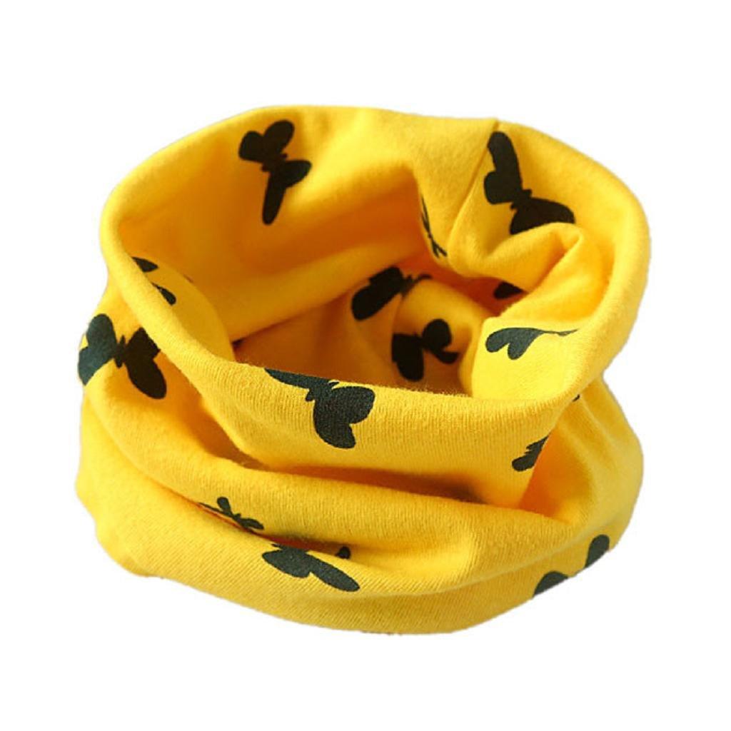 Bufandas de cuello de bebé, RETUROM caliente venta otoño invierno niños niñas Collar bebé algodón O anillo cuello bufandas bufanda