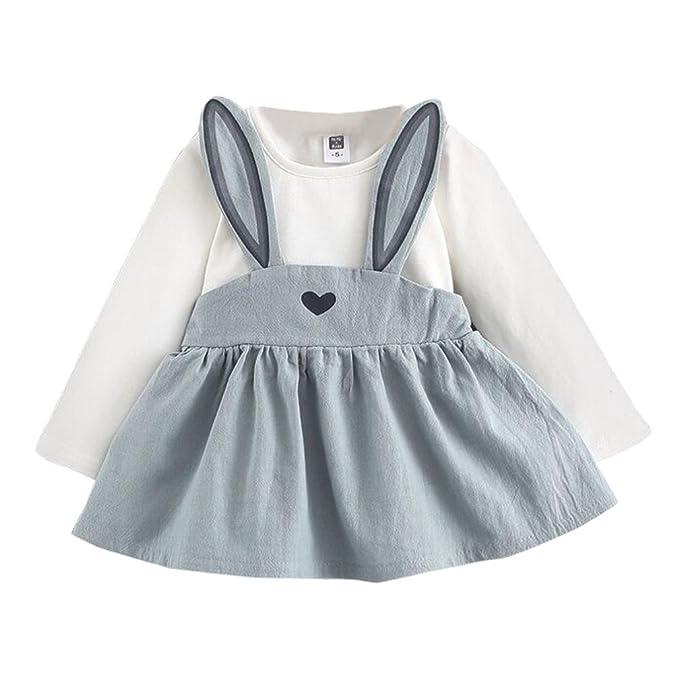 Mädchenkleider kinderkleidung Hirolan Babyoverall 0-3 Jahre Alt ...