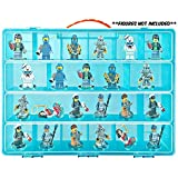 Life Made Better Toy Storage Organizer- Fits 30 Dimensions Mini Figures- Large Case and Carrying Handle