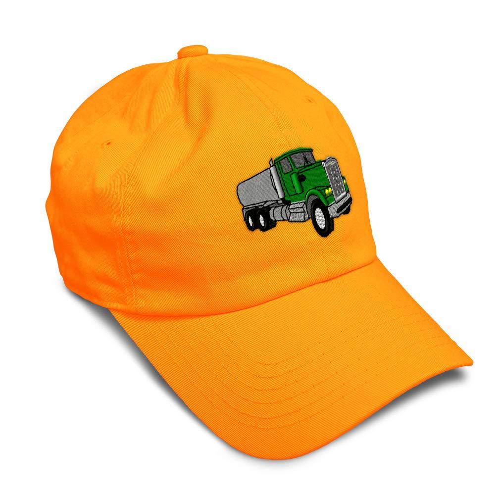 Custom Soft Baseball Cap Water Truck Embroidery Dad Hats for Men /& Women