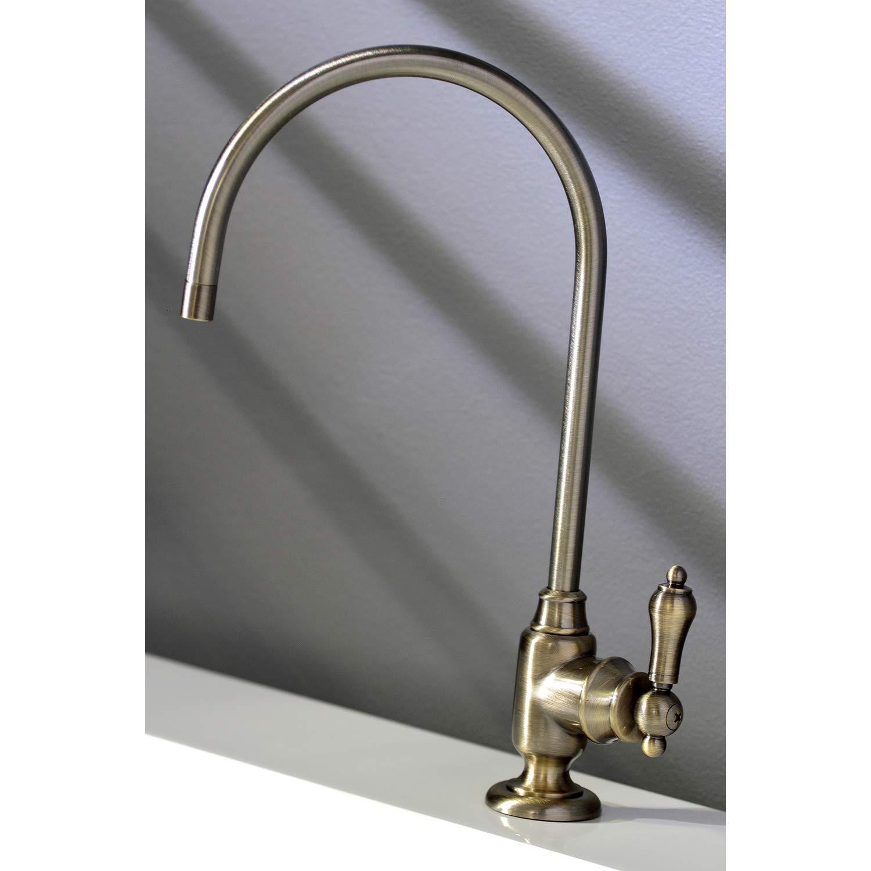 Kingston Brass KS5193BAL Heirloom Single-Handle Water Filtration Faucet Vintage Brass
