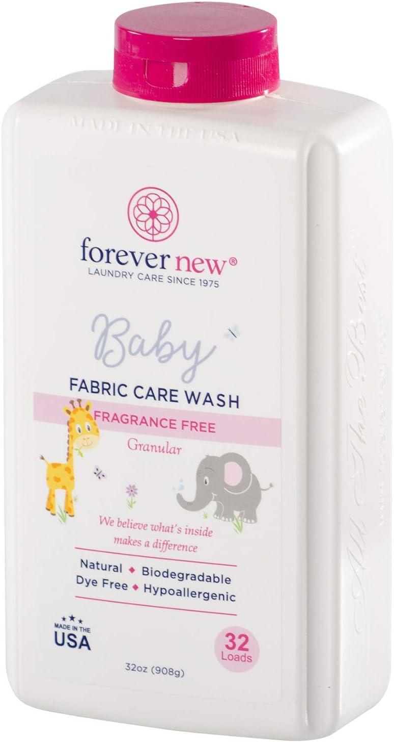 Forever New Baby Granular Detergent – Fragrance Free, 32 Ounce