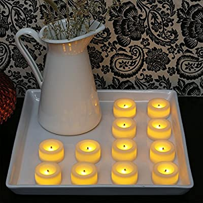 Candle Impressions Cream Votives - Batteries Included