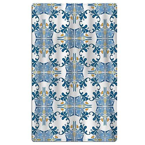 WJSDOW OWEN Unisex Woman's Man Roman Tile Mosaic Design With Famous Artful Eastern Polyester\r\nMultipurpose Daily - Bath Mosaics Roman
