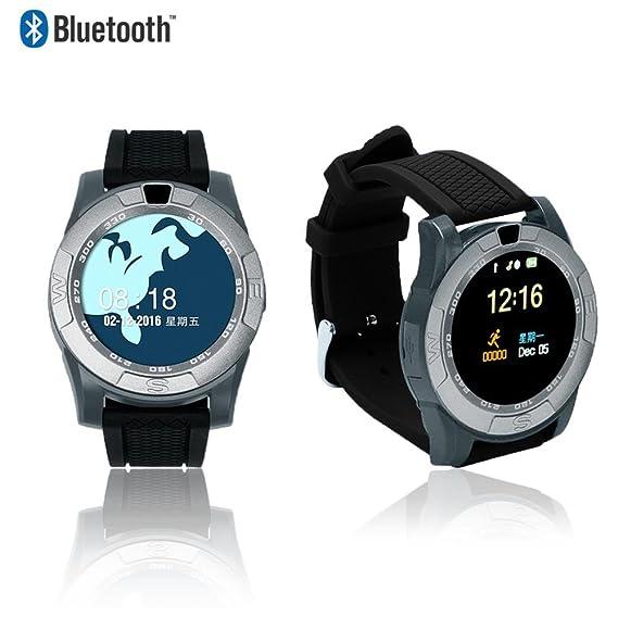 Amazon.com: Indigi 2017 Bluetooth 4.0 Sync SmartWatch & GSM ...