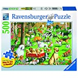 Ravensburger at The Dog Park Large Format Jigsaw Puzzle (500-Piece)