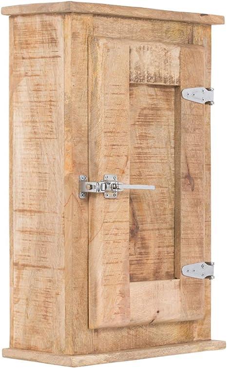Massivum Berino Hangeschrank Bad Holz Natur Bxhxt 45x70x20 Amazon De Kuche Haushalt