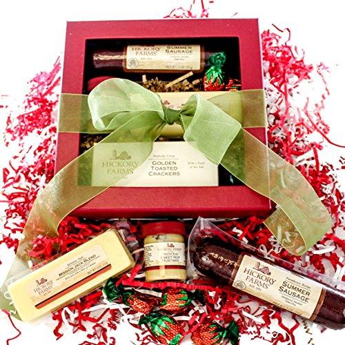 Hickory Farms Signature Holiday Gift Box Great Gift Holly Jolly (Meat Gifts By Mail)