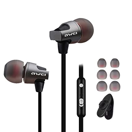 ac1623ab7cc Ear Buds Wired Earphones Earbuds with Remote and Mic 3.5mm in Ear Earbud  Headphones with