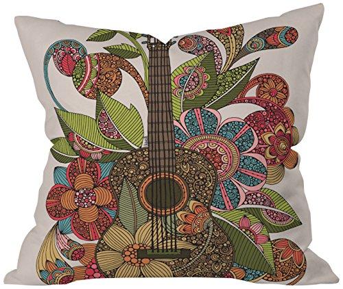 DENY Designs Valentina Ramos Ever Guitar Throw Pillow, Indoor