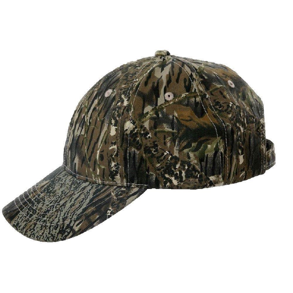 924ec9b25eb Mens WOODLAND CAMO Camouflage Baseball Cap   Hat  Amazon.co.uk  Sports    Outdoors