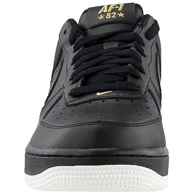8f8dde8b01721e Nike Schuhe – Air Force 1  07 Schwarz Weiß Golden Größe  45  Amazon.de   Schuhe   Handtaschen