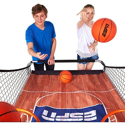NEW 2-Player Basketball Game with Authentic PC Backboard by ESPN