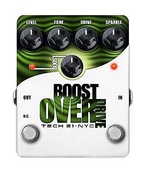 Amplificadores y efectos Tech21 Boost Overdrive Distortion – fuzz – Overdrive.