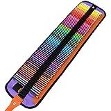 Damon  油性色鉛筆 72色セット 塗り絵 描き用 絵の具 収納ケース付き 鉛筆削り付き