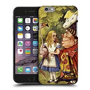 Case Fun Alice in Wonderland The Duchess Snap-on Hard Back Case Cover for Apple iPhone 6 Plus (5.5 inch) by icecream design