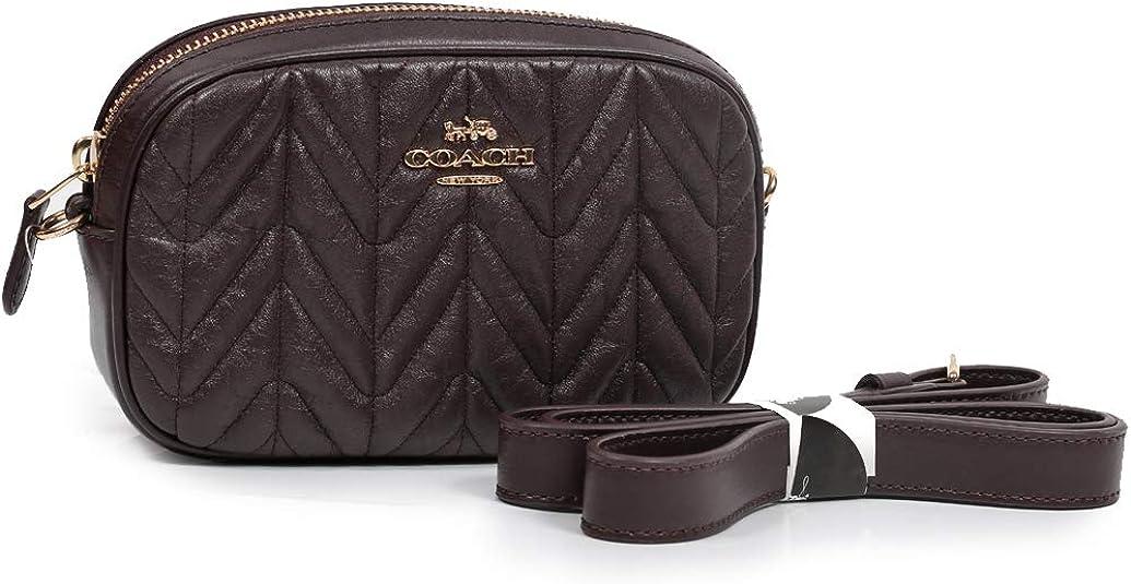 Coach Convertible Belt Bag Oxblood