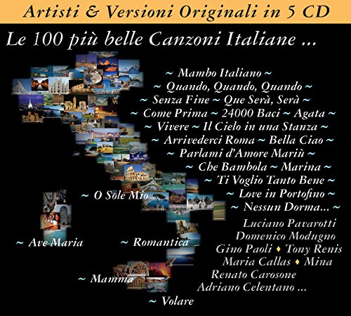 Price comparison product image 100 Of The Most Beautiful Italian Songs