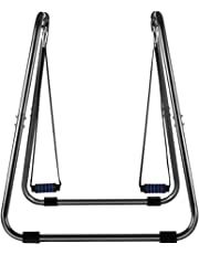 OneTwoFit Fitness Dip Station Training Stand Parallel Bars for Body Workout Tricep Dips Leg Raises with Push up Trainer OT067