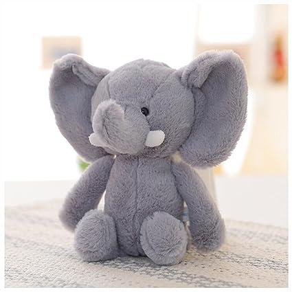 Amazon Com Hyl World 9 8 Soft Elephant Stuffed Animal Plush Toy