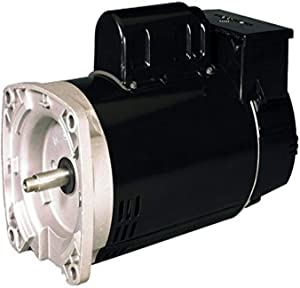 US Motors EB2977T or ASB2977T 1.5 hp Two Speed with Timer 56J Frame C Flange Pool and Spa Motor