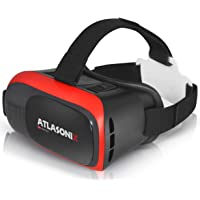 VR Headset for iPhone & Android Phones Virtual Reality Goggles | 2019 New Comfortable & Adjustable Glasses with Full Eye Protection, Compatible with Smartphones | Play Your Best 3D & 360 Mobile Games