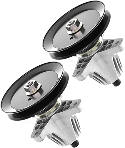 """2 Pack Spindle Assembly for Cub Cadet MTD 42/"""" Deck 618-06976 618-06976A"""