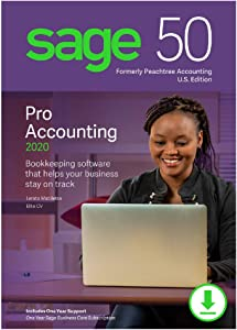 Sage 50 Pro Accounting 2020 U.S. [PC Download]