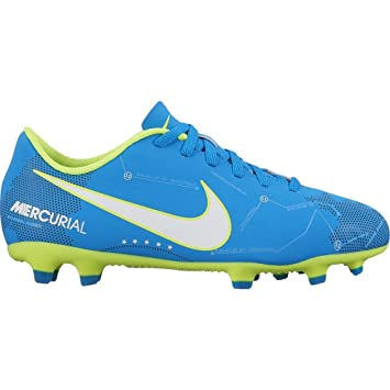 e8b9c7309 Nike JR Mercurial Vortex III NJR FG Football Shoes Neymar Jr