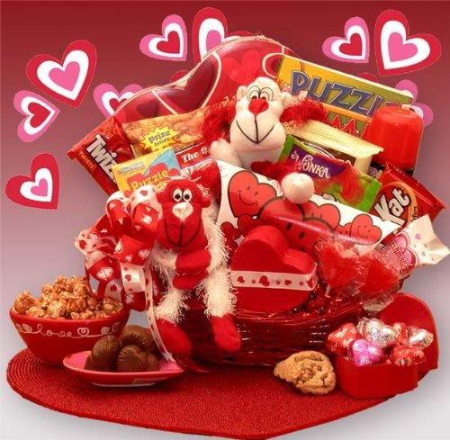 Gift Basket Drop Shipping A Little Monkey Business Kids Valentines Gift Basket