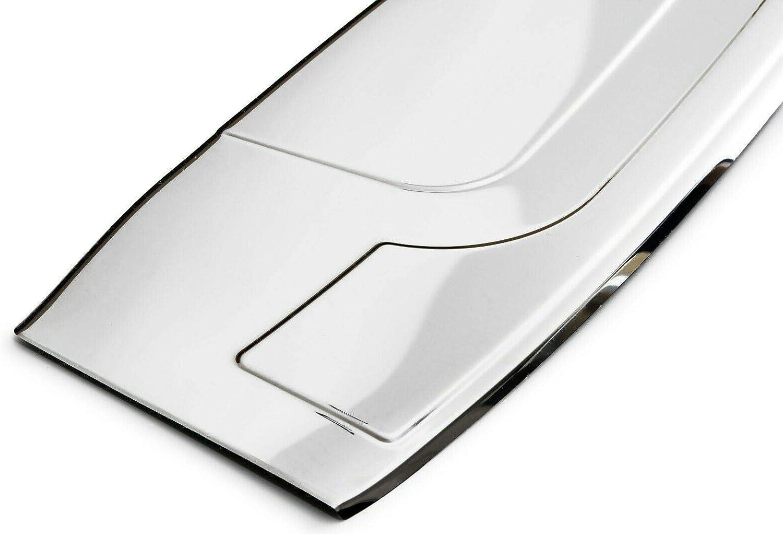 Large Recambo CT-LKS-1921 Protecci/ón para el Borde de Carga de Acero Inoxidable Pulido para Renault Grand Scenic IV a Partir de 2016