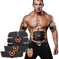 Sonolife - Entrenador Abdominal Portátil EMS Estimulador Muscular - Equipo Unisex de Uso Casero para Adelgazar