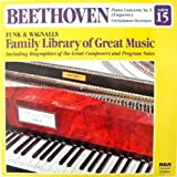Beethoven Piano Concerto No. 5 / Coriolanus Overture Nuremberg Symphony, Zsolt Deaky, Conductor (Including biography of the composer & program notes)