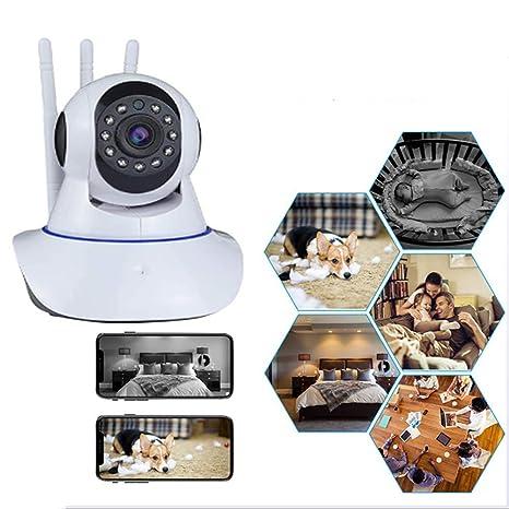 Cámaras de Vigilancia Perros Rotación de 360° WiFi Interior ...